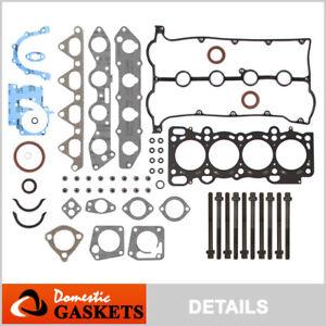 Fits 98-01 Kia Sephia Spectra 1.8L DOHC Full Gasket Set Bolts T8