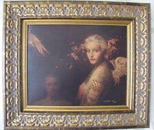 James Christensen Men and Angels #22 Limited Giclee Canvas framed Inspirational