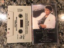 Michael Jackson Thriller 1983 Cassette Tape! Madonna Blondie Heart David Bowie