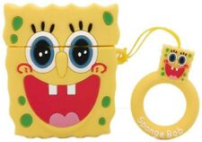 Airpod SpongeBob Silicone Case Shockproof Earphone Cover (Sponge Bob)