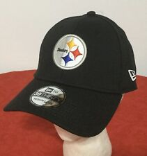 New Era Pittsburgh Steelers NFL Black Adult Sz M/L Flexfit 39THIRTY CAP HAT NWT!