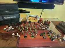 Warhammer 40k ork army Mostly Painted Large Army With Vehicles