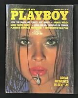 Playboy Magazine, February 1977 🐇 LIKE NEW Condition, Keith Stroup Interview