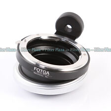 FOTGA Tilt Shift Adapter for Nikon F Lens Micro 4/3 Four Thirds Lumix Pen Camera