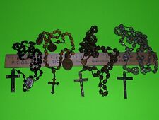 VINTAGE ROSARY RELIGIOUS WOW 4 LOT CATHOLIC CHRISTIAN FROM ESTATE AUCTION