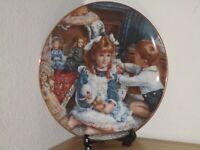 """Grandma's Truck"" by Sandra Kuck RECO 1998 Barefoot Children Collector's Plate"
