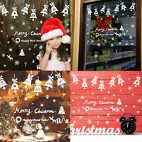 Removable Snow Snowflake Bells Wall Sticker Vinyl Decal Christmas Window Decor
