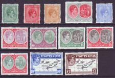 St Kitts-Nevis 1938 SC 79-90 MH Set