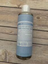 Dr. Bronner's Pure Castile Liquid Soap Hemp Baby Unscented, 8 Fl Oz 1 pack
