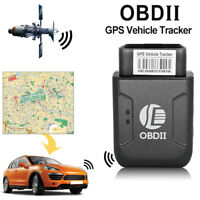 Mini OBD2 GPS tracker GPRS Real Time Tracker Car Tracking System With Geofence