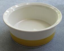 Arabia of Finland Faenza Yellow 7 inch Round Vegetable Serving Bowl