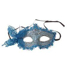 Sexy Women Lace Mask Venetian Masquerade Ball Party Carnival Face, Eye (blu I1D0