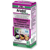 JBL ARADOL PLUS 250 against carp lice and anchor worms in aquarium fish 100ML