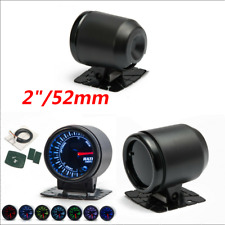 "2"" 52mm Universal 7 Colors LED Backlight Car Meter Auto SUV Air Fuel Ratio Gauge"