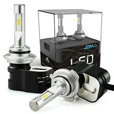 JDM ASTAR 9006 8400LM CSP LED Conversion Headlight Kit 6000K Xenon White Bulbs