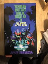 NECA Teenage Mutant Ninja Turtles Super Shredder Deluxe Action Figure