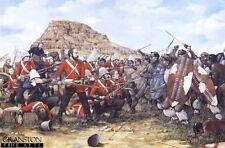 Zulu War Military Art Print Battle of Isandhlwana South Wales Borderers  ltd ed