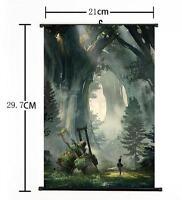 "Hot Japan Anime Game NieR: Automata Home Decor Poster Wall Scroll 8""×12"" 08"