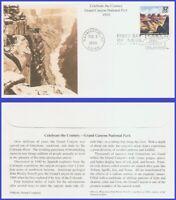 US #3183h U/A MYSTIC FDC   1910 Grand Canyon National Park