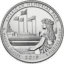 2019 AMERICAN MEMORIAL PARK (NORTHERN MARIANA ISLANDS) P & D SET **PRESALE**
