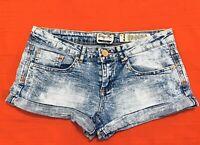 INDIGO  REIN  Forever ... Distressed  Denim  Blue  Jean  Shorts ... Size  0