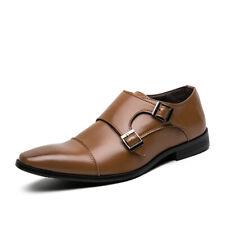 Zapatos para hombre Low Top Imitación Cuero Oficina de Trabajo de Negocios Boda Pointy Toe Oxford D