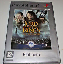 The Lord of the Rings The Two Towers PS2 (Platinum) PAL *Complete*