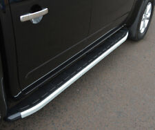 Aluminium Side Steps Bars Running Boards To Fit Nissan Navara D40 (2005-14)