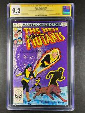 New Mutants 1 CGC 9.2 signed Louise Simonson Chris Claremont Origin of Karma
