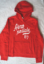 Aeropostale red w/ large white logo Hoodie Sweater Junior XXL extra extra large