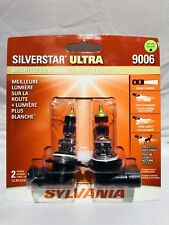 Sylvania SilverStar Ultra Light Bulb 9006 HB4 P22d 55W