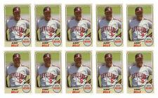 (10) 1993 Sports Cards #11 Albert Belle Baseball Card Lot Cleveland Indians