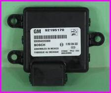 * Parking Aid Object Detection Alarm Module GM 92195170 Bosch 0263004222 NEW *