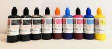9X100ML Pigmento Tinta Recargable para Epson Surecolor Sc P600 Cartucho