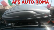 BARRE PORTATUTTO G3 FIAT PANDA ANNO 2013 CON  RAILS+BOX PORTAPACCHI ALL TIME 400