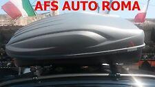 BARRE PORTATUTTO G3 FIAT PANDA ANNO 2016 CON  RAILS+BOX PORTAPACCHI ALL TIME 400