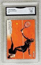 2003 Serena Williams NetPro  Rookie GMA Gem Mint 10 #1 Compare to PSA