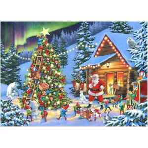Twinkle Little Star House of Puzzles HOP MC525 1000 Pcs Christmas Jigsaw Puzzle
