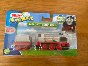 Merlin - Thomas And Friends Metal Die Cast Engine Train Pull Along