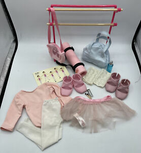 """Battat Our Generation Dancing Feet Ballet Outfit & Accessory Set for 18"""" Dolls"""