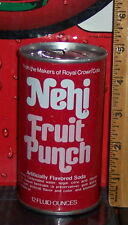 NEHI FRUIT PUNCH 12 OUNCE STEEL  CAN EMPTY