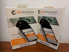 2 NEW Pay Anywhere Smartphone or Tablet Mobile Credit Card Reader Accept Pay
