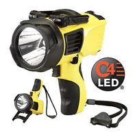 NEW! Streamlight 44900 Waypoint Spotlight with 12V DC Power Cord, Yellow