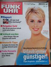 FUNK UHR 15 - 2000 (2) TV: 15.-21.4. Josie Bissett Heino Ferch Lindenstraße