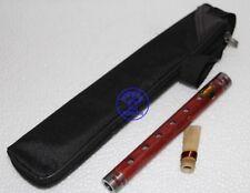 Professional yanjing New Red wood folk musical instruments Small G key Guanzi