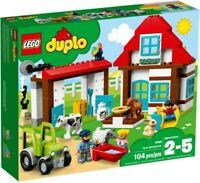LEGO Duplo Farm Adventures 2018 (10869) Building Kit 104 Pcs