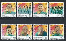 AUSTRALIA 2016 RIO OLYMPICS SET OF 8 FINE USED