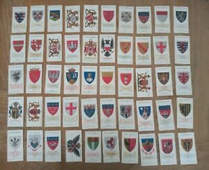 Arms Of Foreign Cities Series Of 50 Cards W D & H O Wills