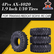 4x AUSTAR AX-4020 1.9 Inch Crawler Tires for Traxxas Redcat SCX10 AXIAL RC4WDTF2