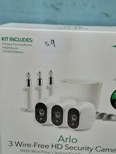 Arlo, 3 Wire-Free HD Security Cameras (Shelf 9)(L)